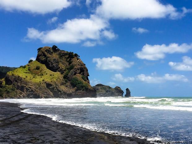 Новая Зеландия. Пляж Пиха.