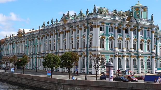 Россия. Санкт-Петербург. Эрмитаж.