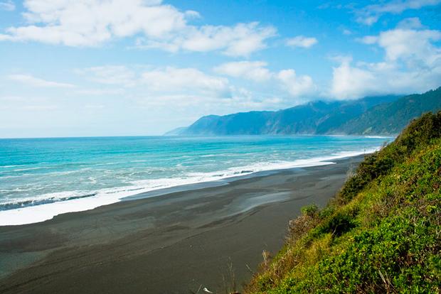 США. Пляж «Затерянное побережье»