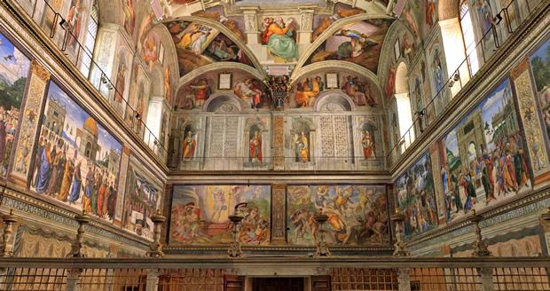 Сикстинская капелла, Италия