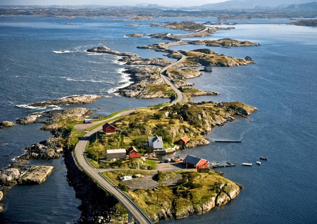 Норвегия. Атлантическая дорога.