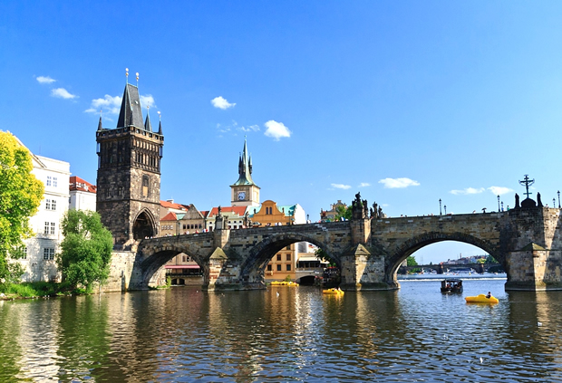 Чехия. Прага. Карлов мост.