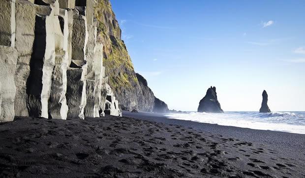 Исландия. Пляж Вик.