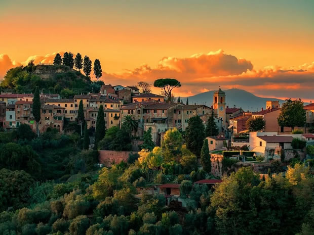 Италия. Тоскана.