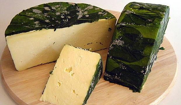 Сыр на крапиве