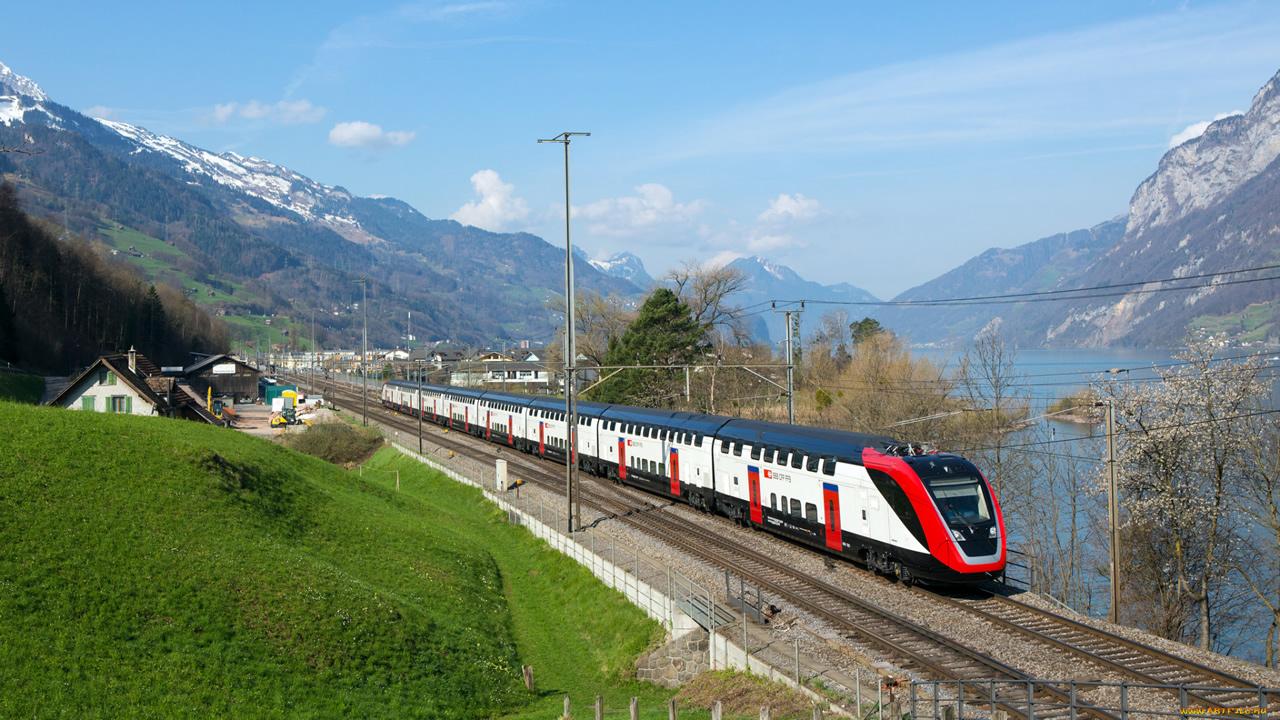 Поезд из Москвы в Европу